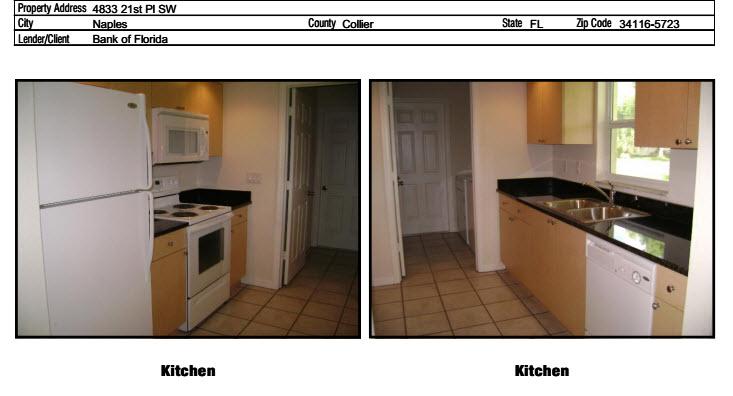 kitchen appraisal