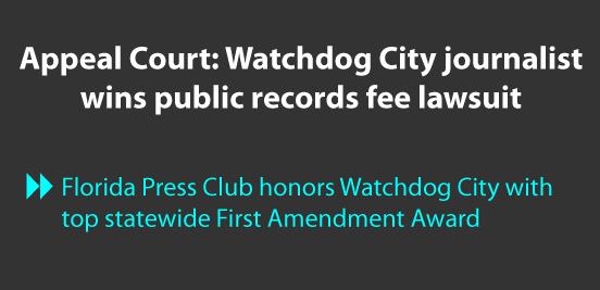 Watchdog City Journalist Wins Public Record Lawsuit
